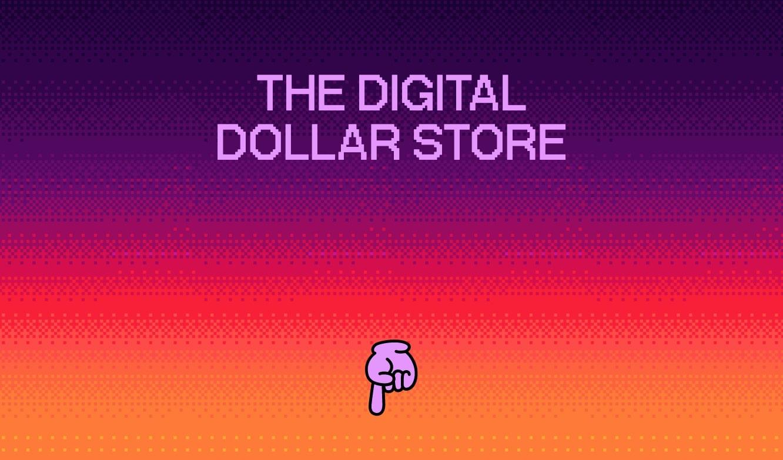digital dollar store greeting