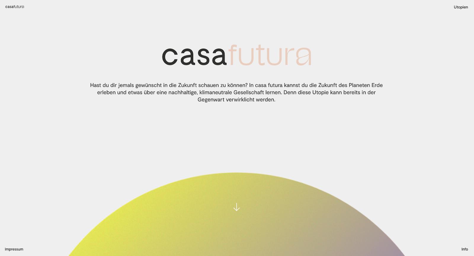 casa futura website
