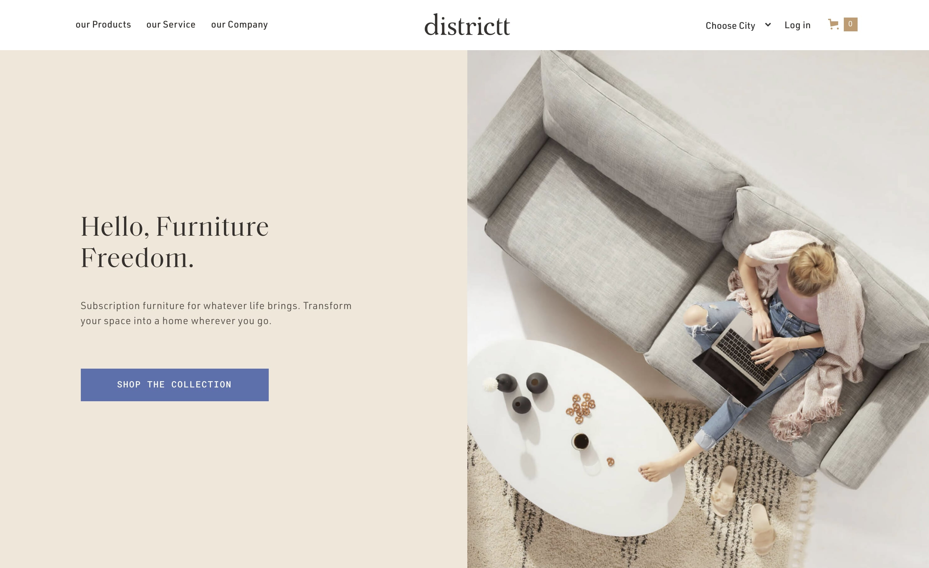 districtt home page
