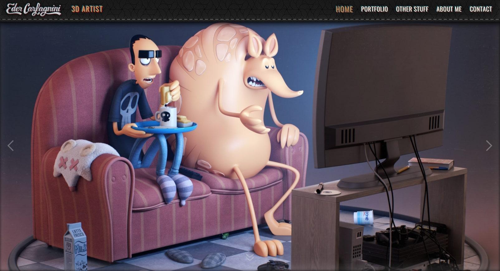 eder's online portfolio