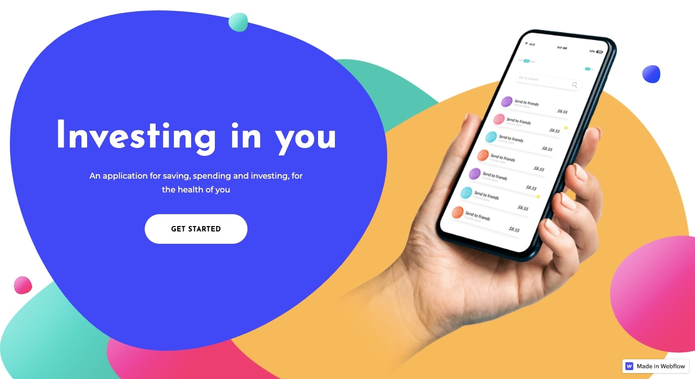 soft html template landing page