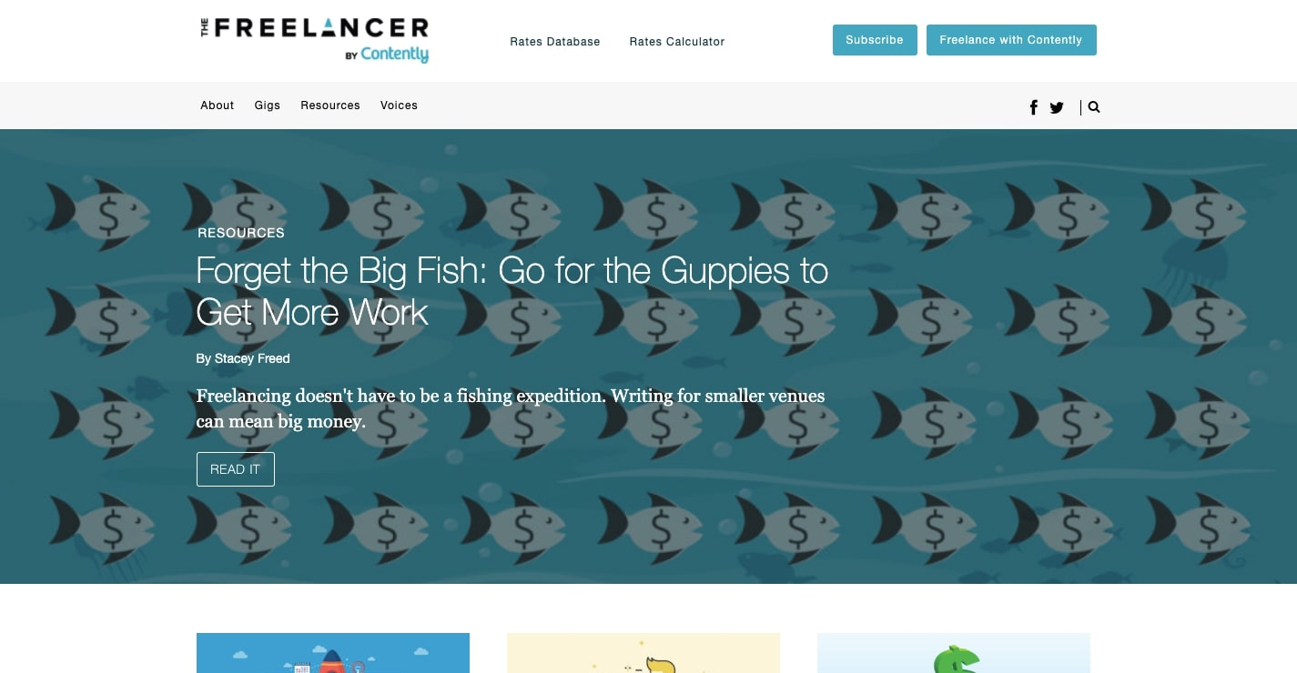 the freelancer by contently