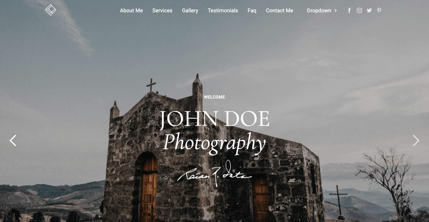 capture website template