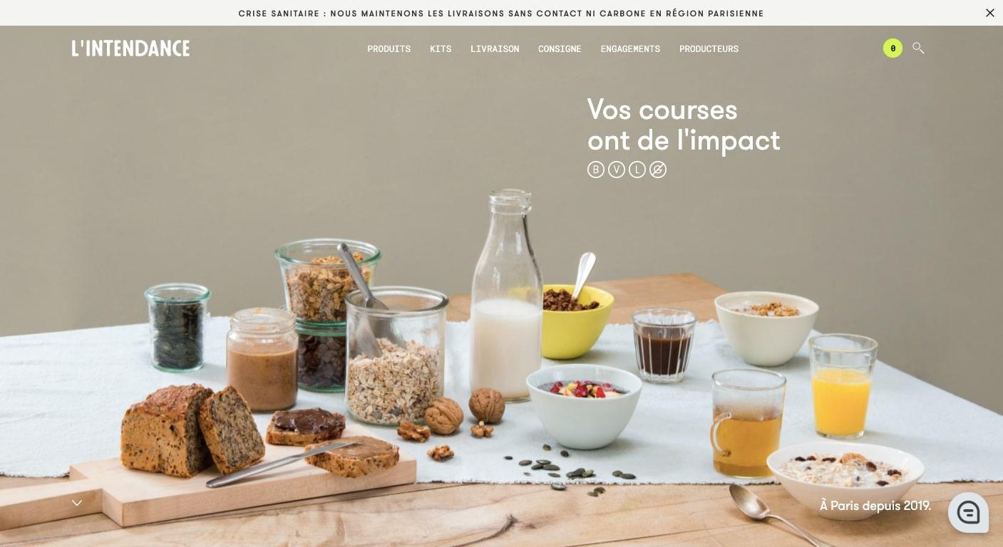 l'intendance website