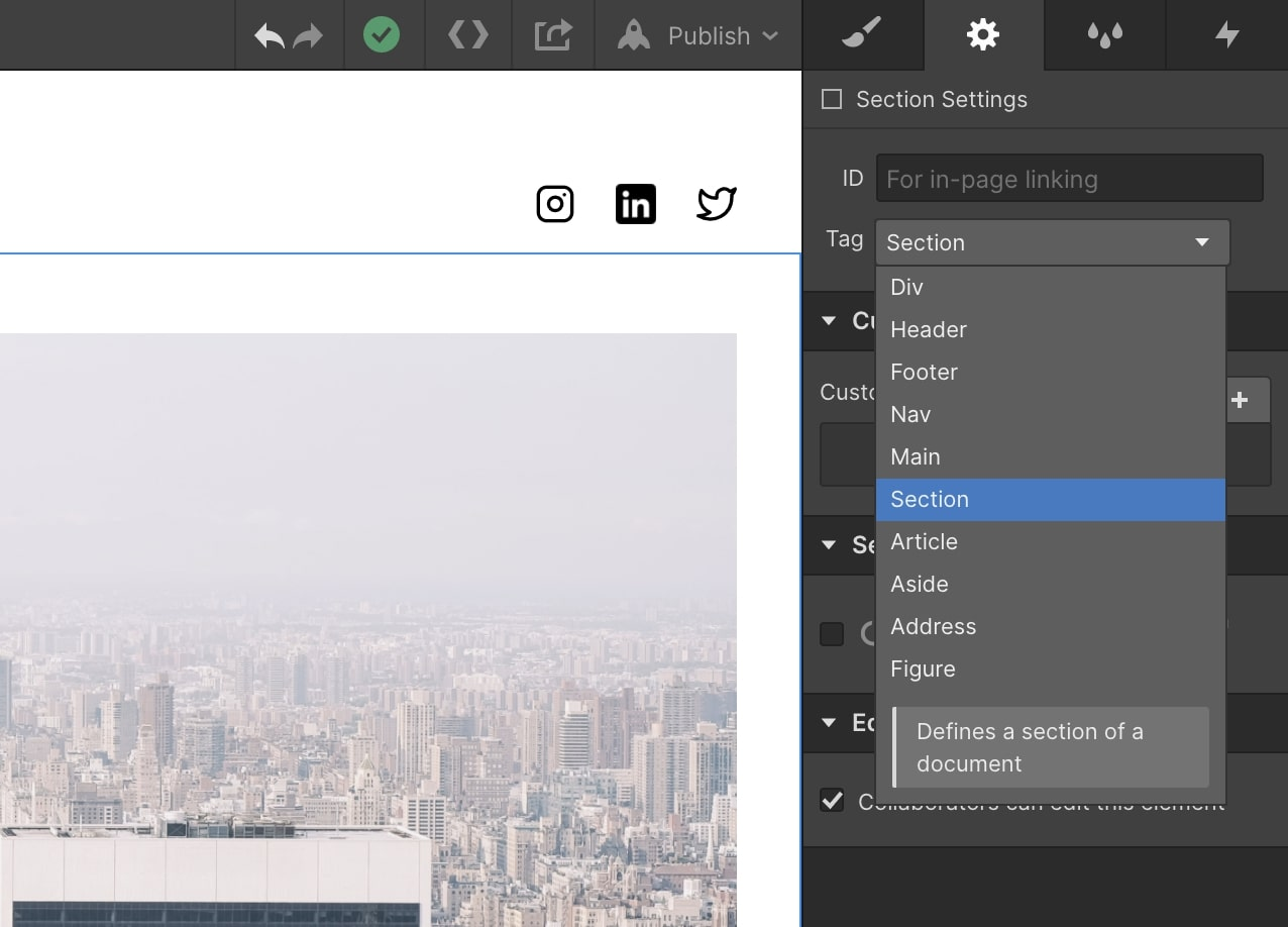 html5 tagging ui