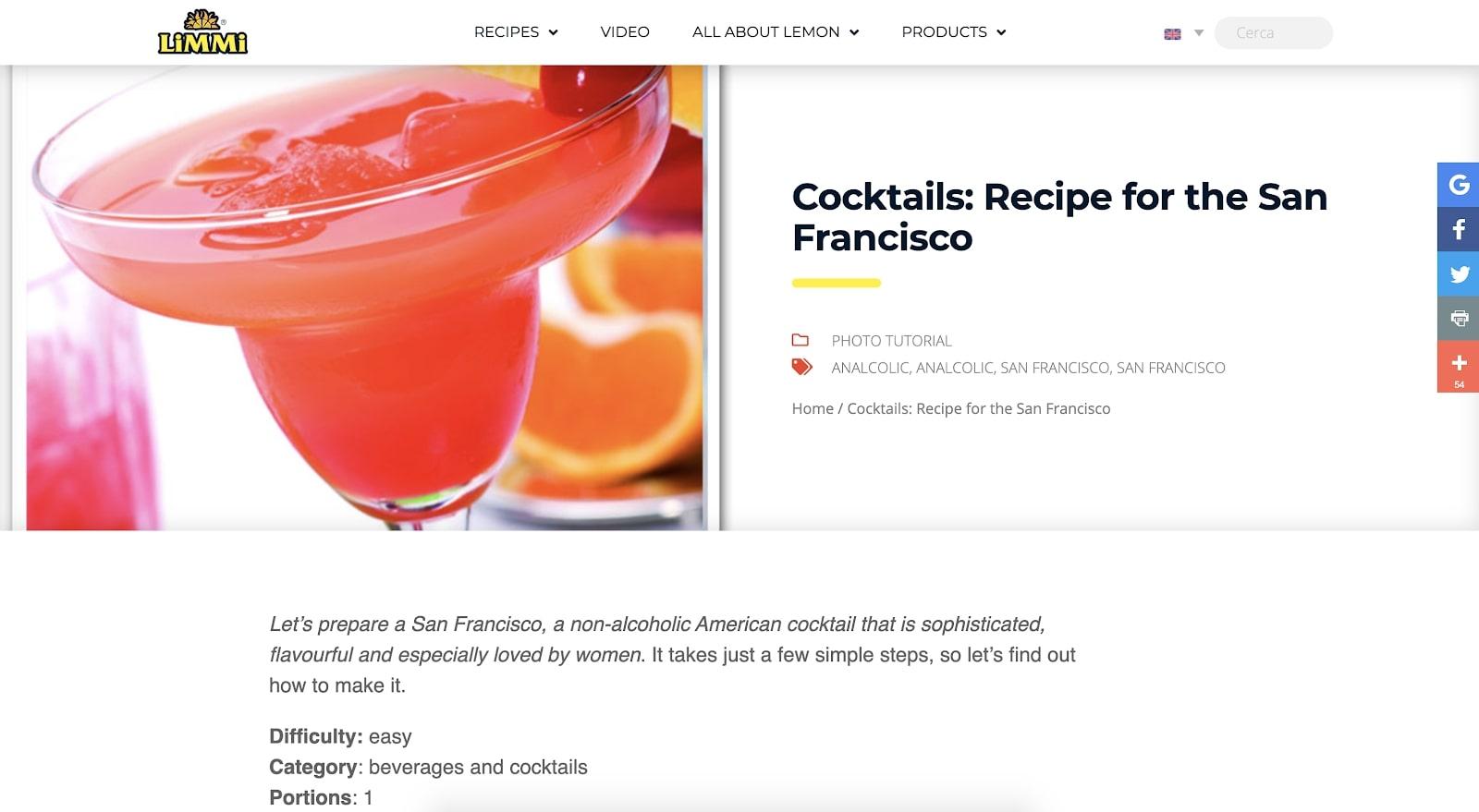 limmi lemon blog recipe