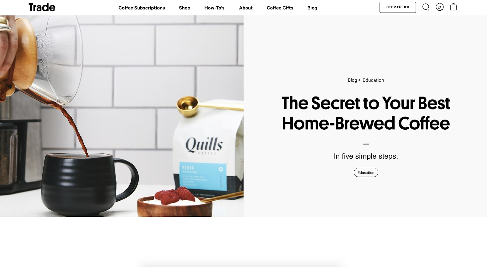 how to make the best home brewed coffee