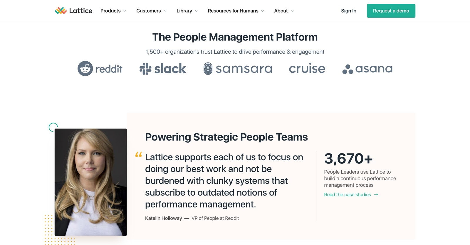 lattice's home page
