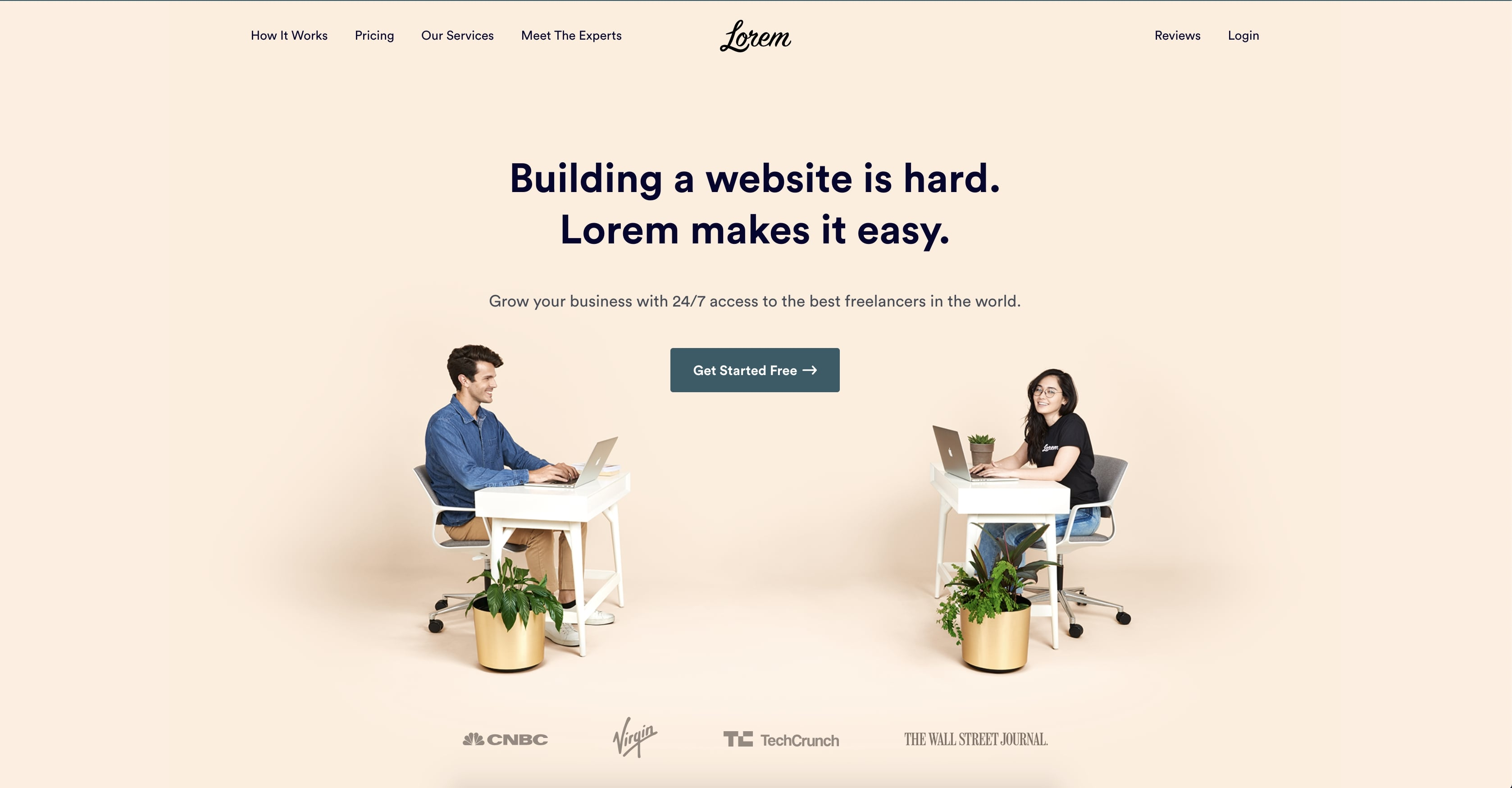 lorem's website