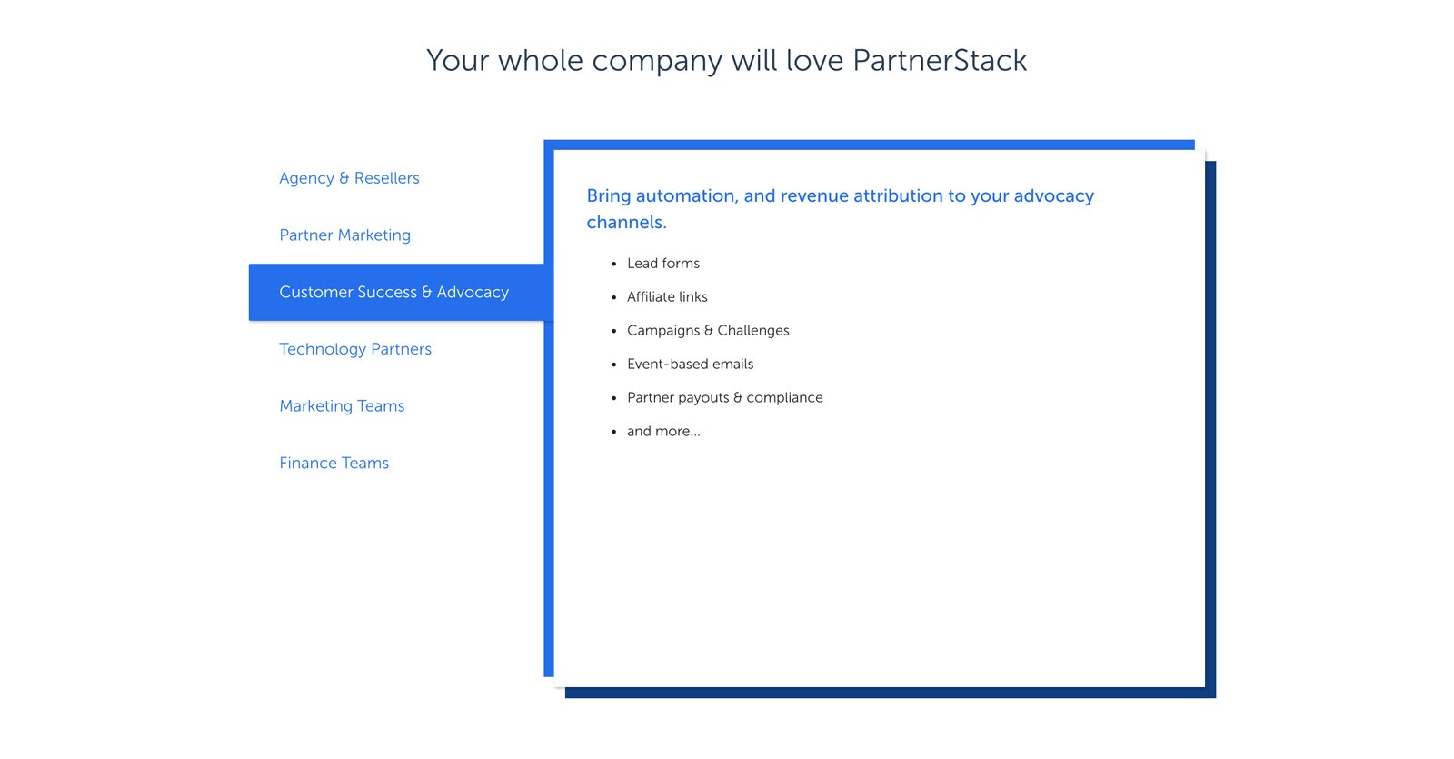 partnerstack for teams