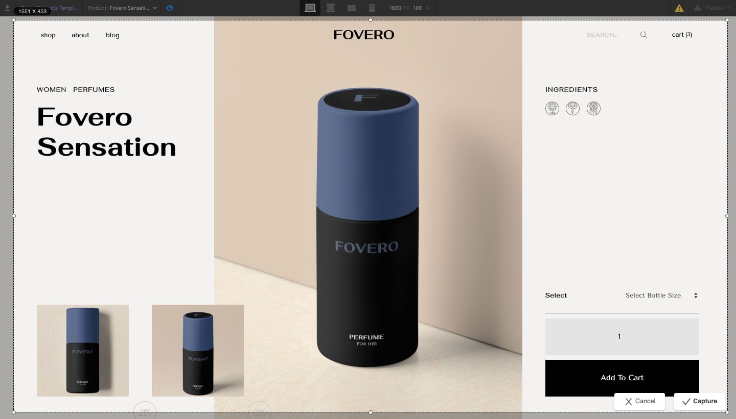 fovero product page