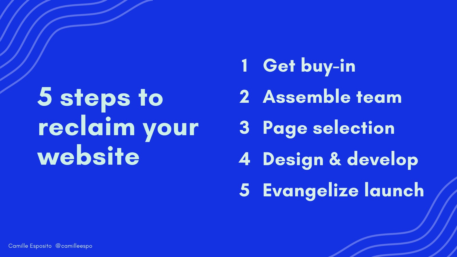 5 steps to reclaim your website