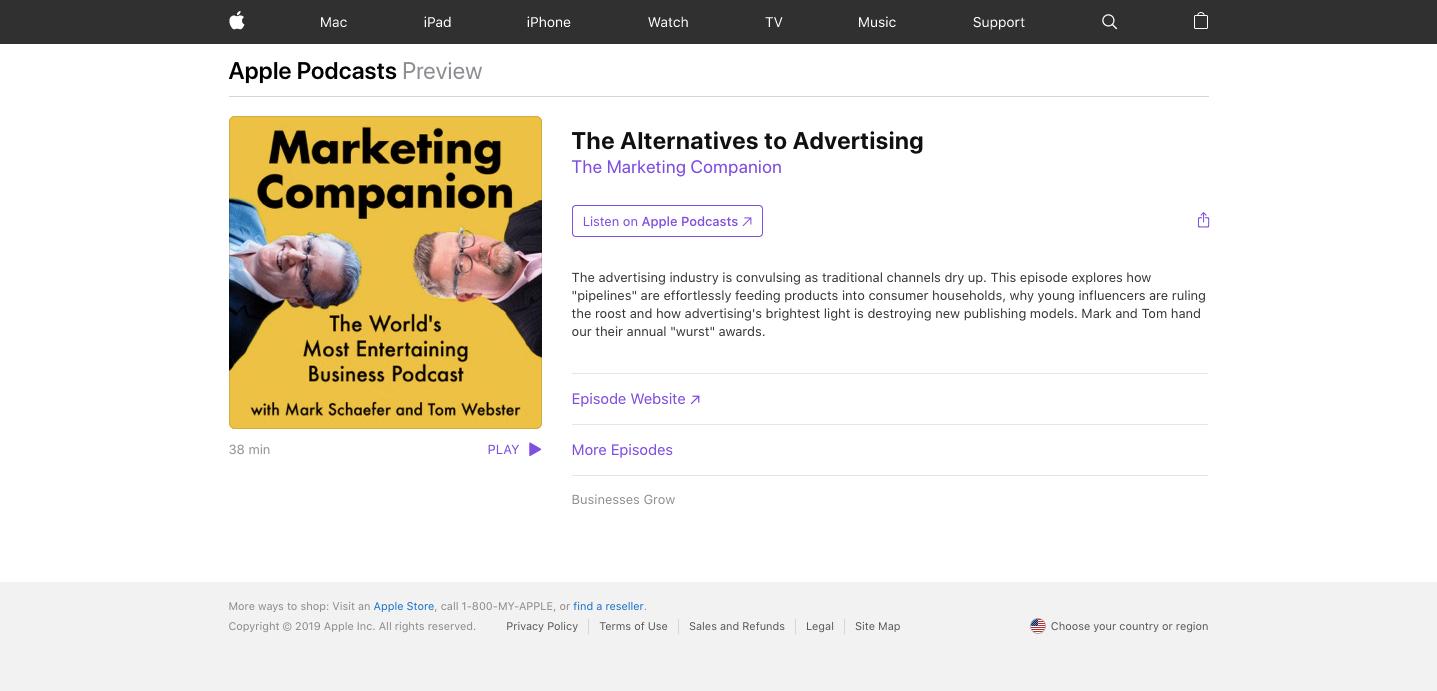 marketing companion podcast