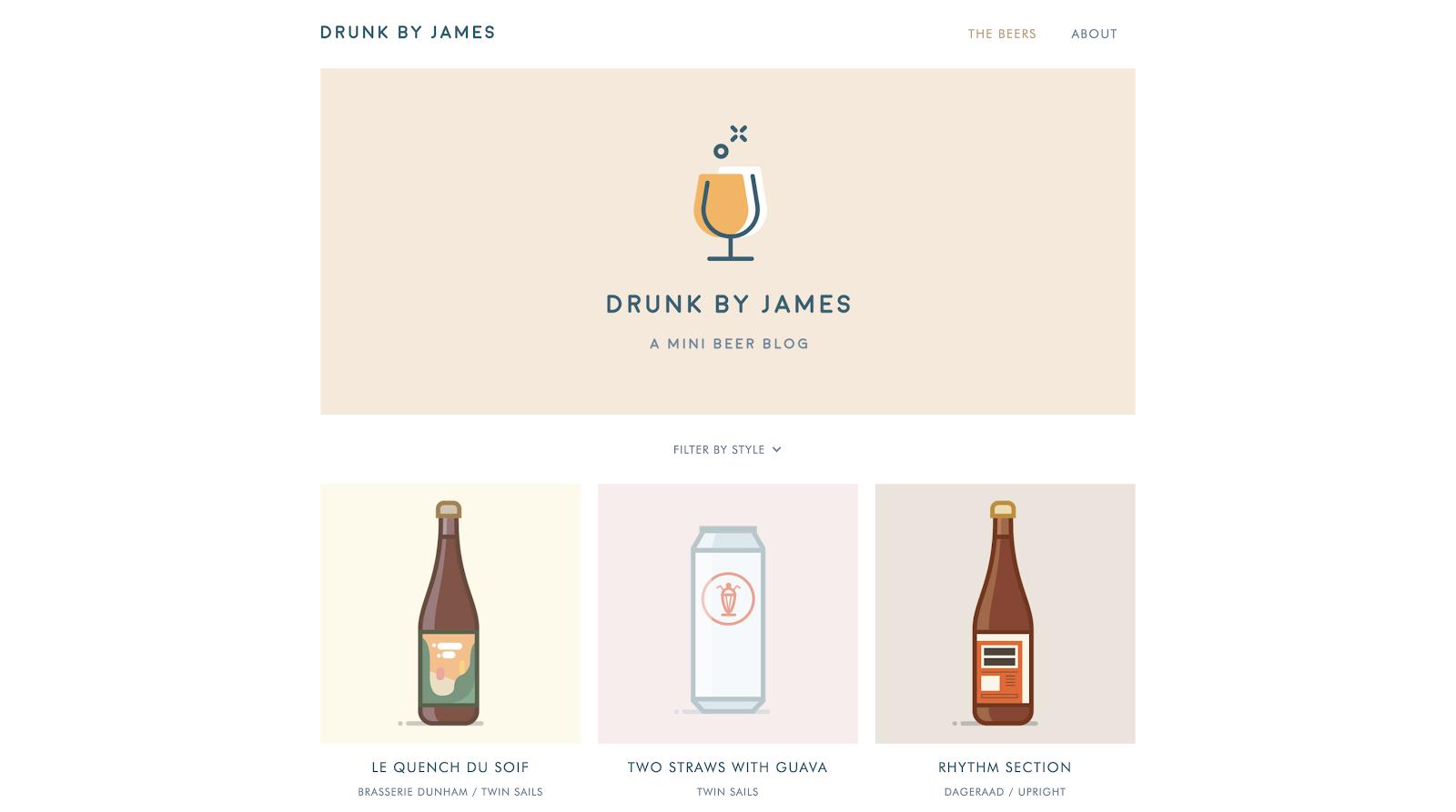 drunk by james blog