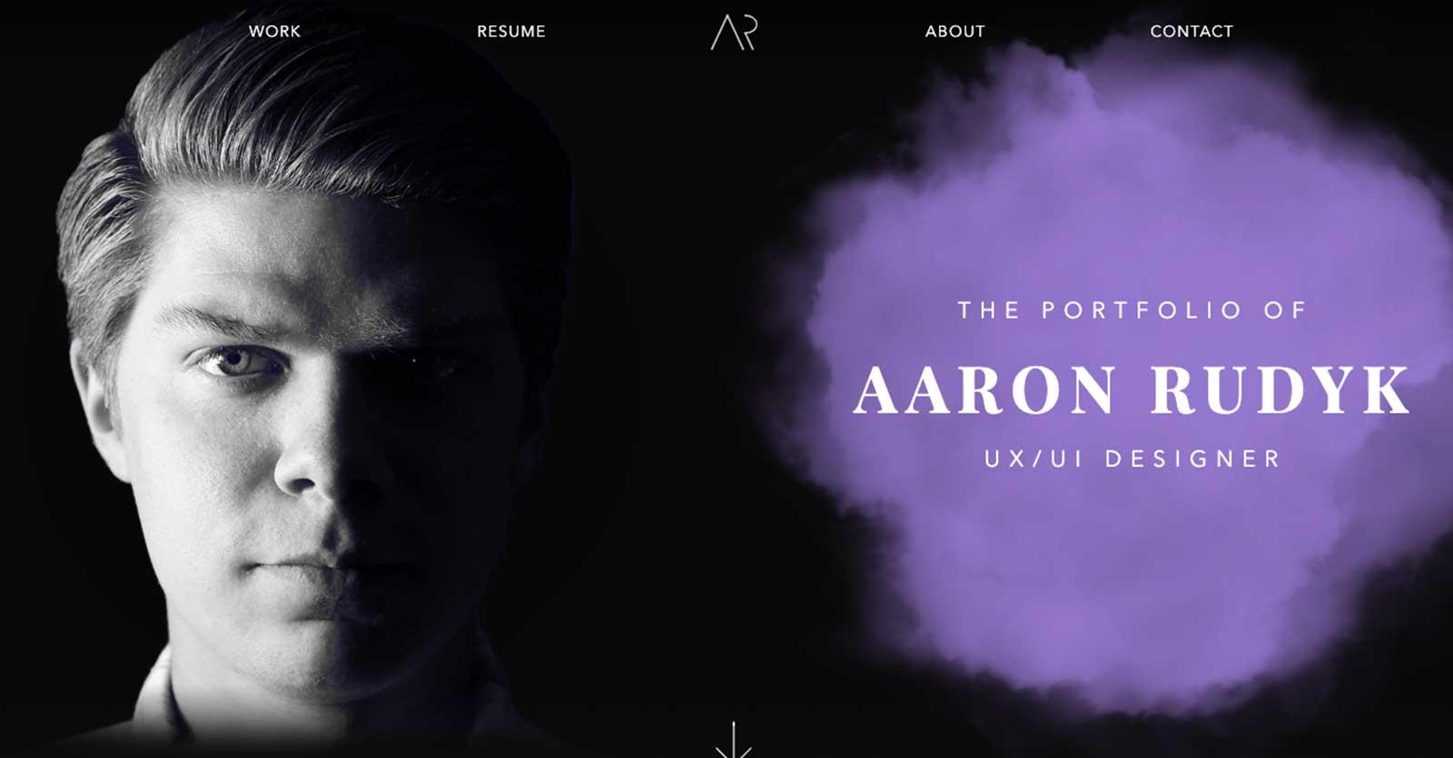 aaron rudyk's portfolio