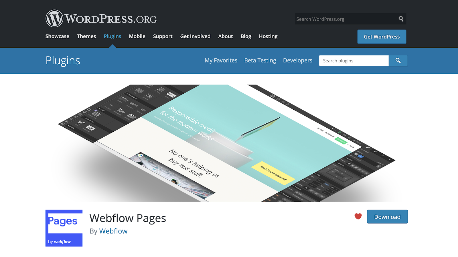 Power all or part of your WordPress site with Webflow, thanks to our new plugin.