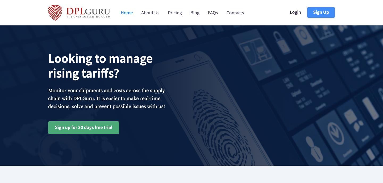 DPL Guru homepage.