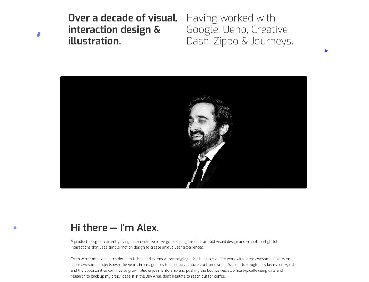 Alex Lakas' homepage.
