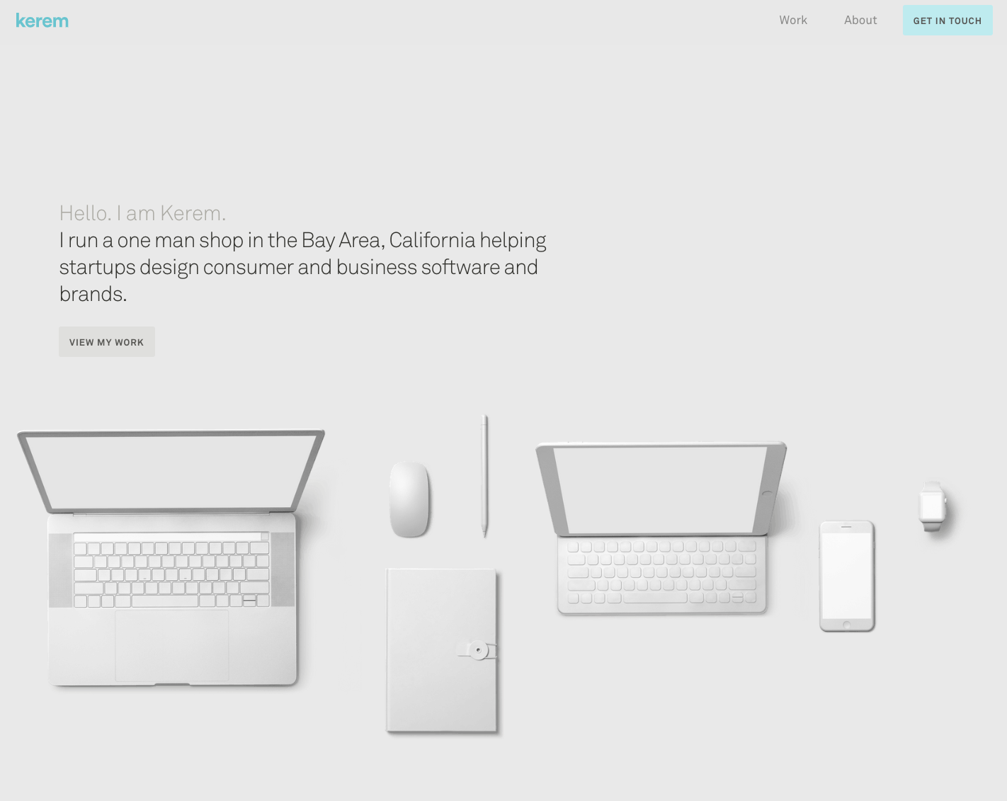 Kerem Suer homepage