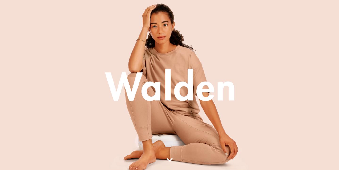 Walden homepage.
