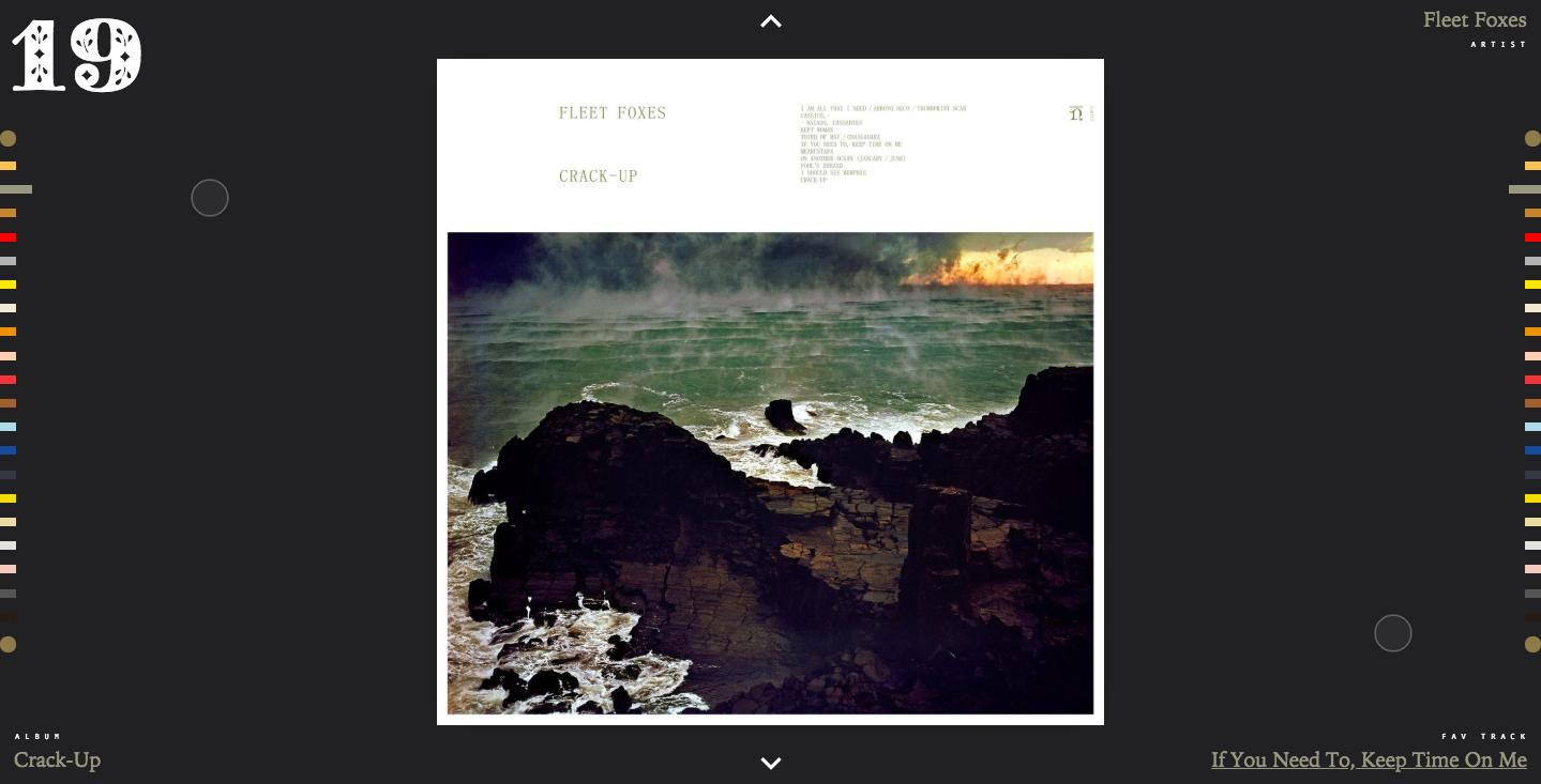 Hoog Design Best Albums of 2017 homepage
