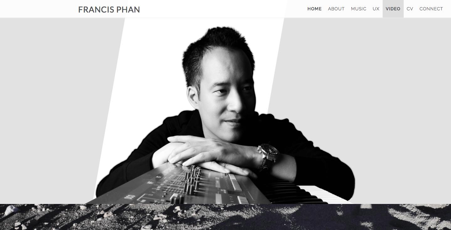 Francis Phan homepage