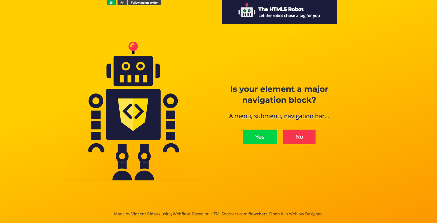inb4 HTML5 Robot page.