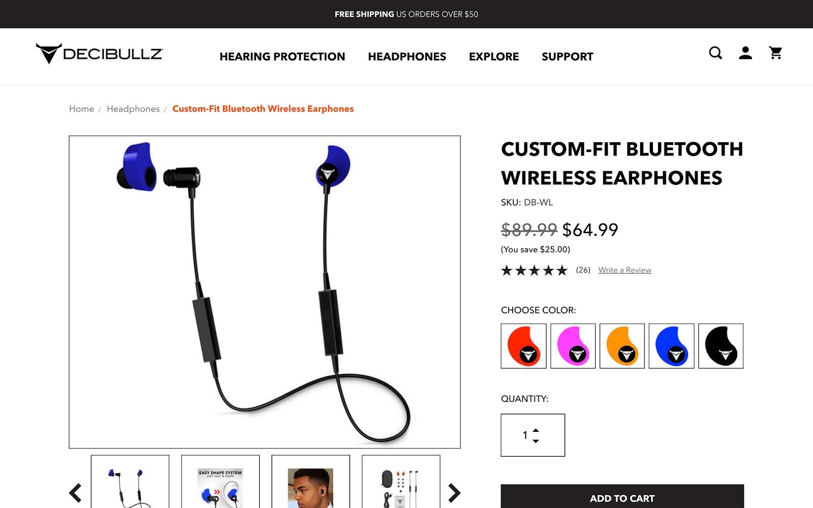 decibullz bluetooth headphones