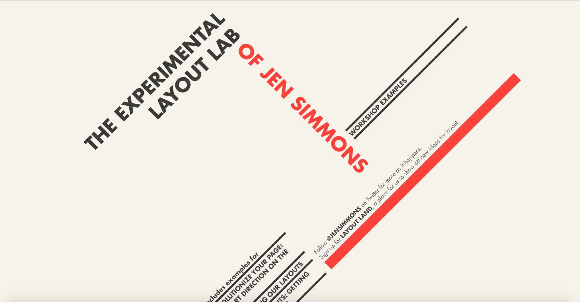 The Experimental Layout Lab of Jen Simmons