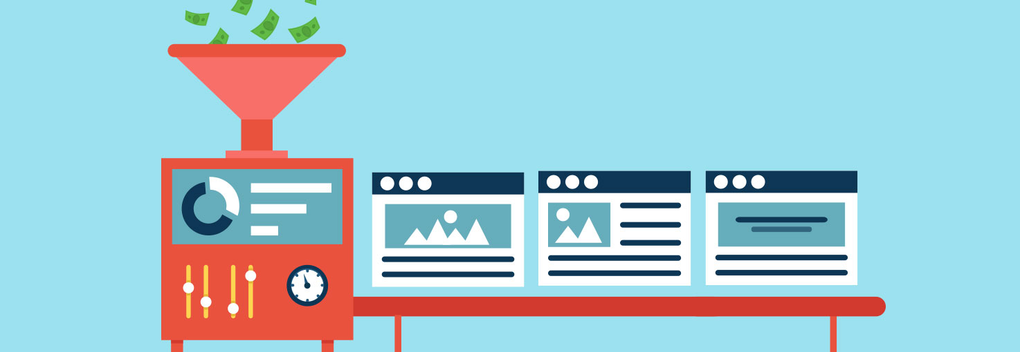 create landing pages easiily