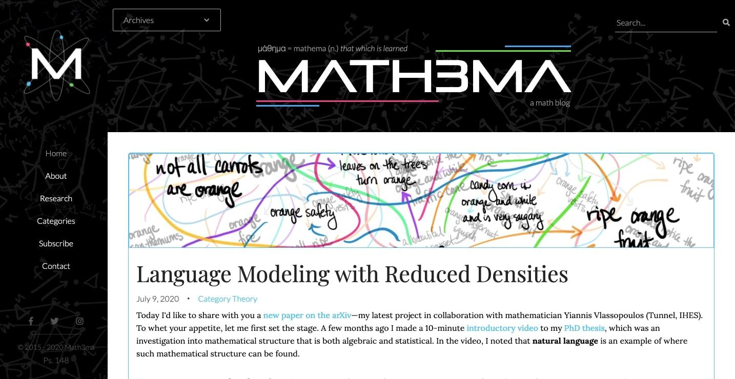 math3ma homepage