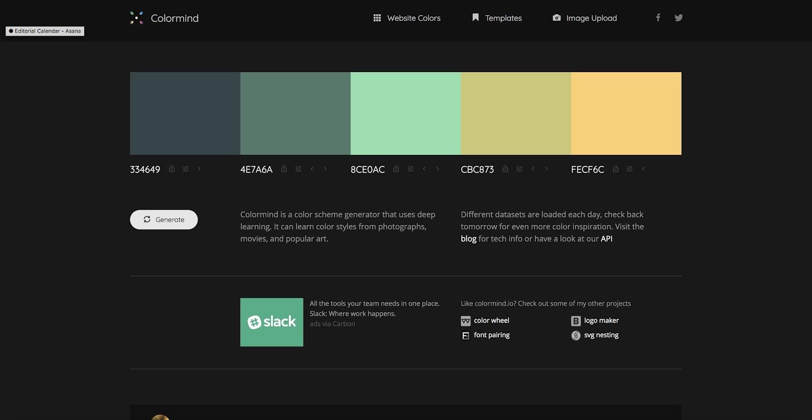 colormind color picker
