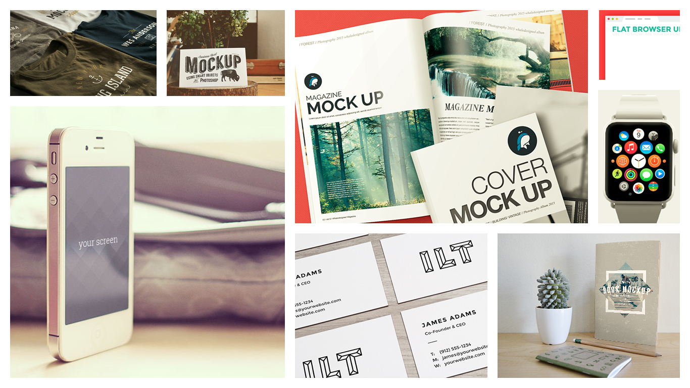 Use mockups to make a product easier to imagine