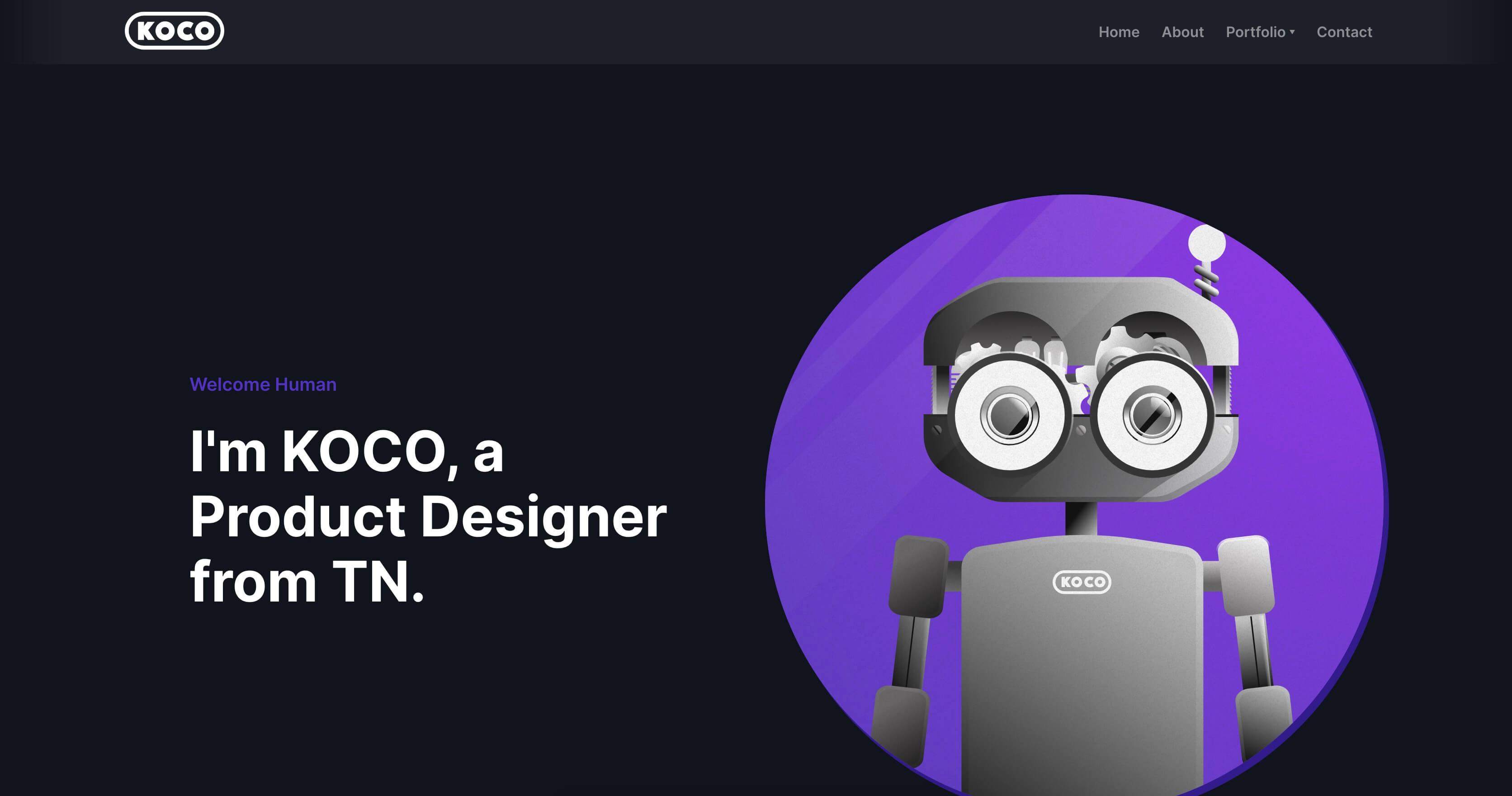 Koco's ux designer portfolio