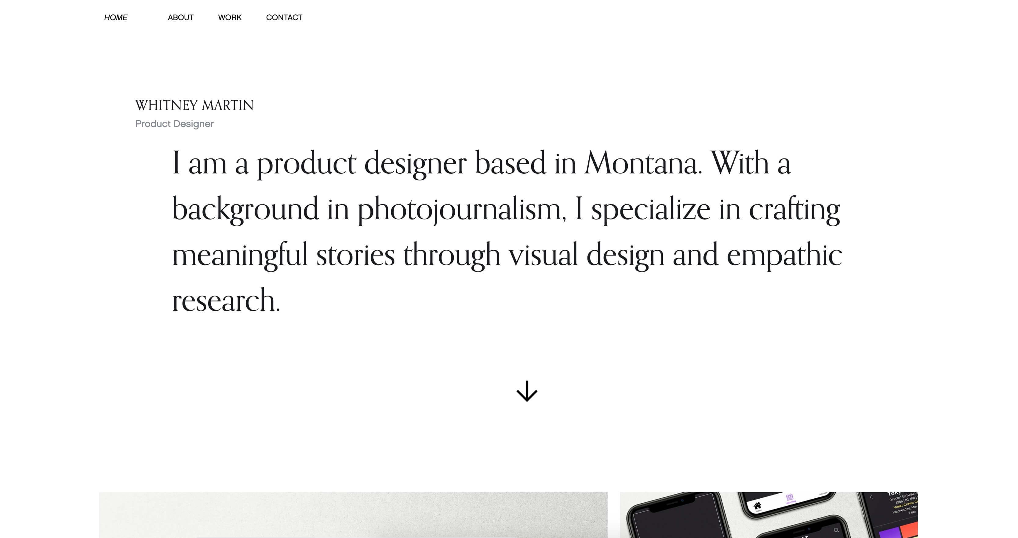 Whitney Martin's portfolio
