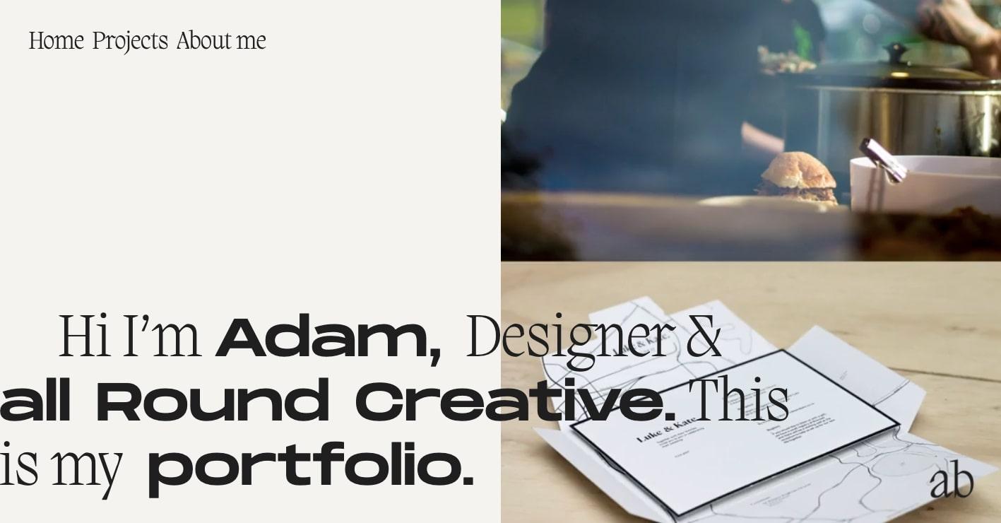 Adam Bradley's portfolio