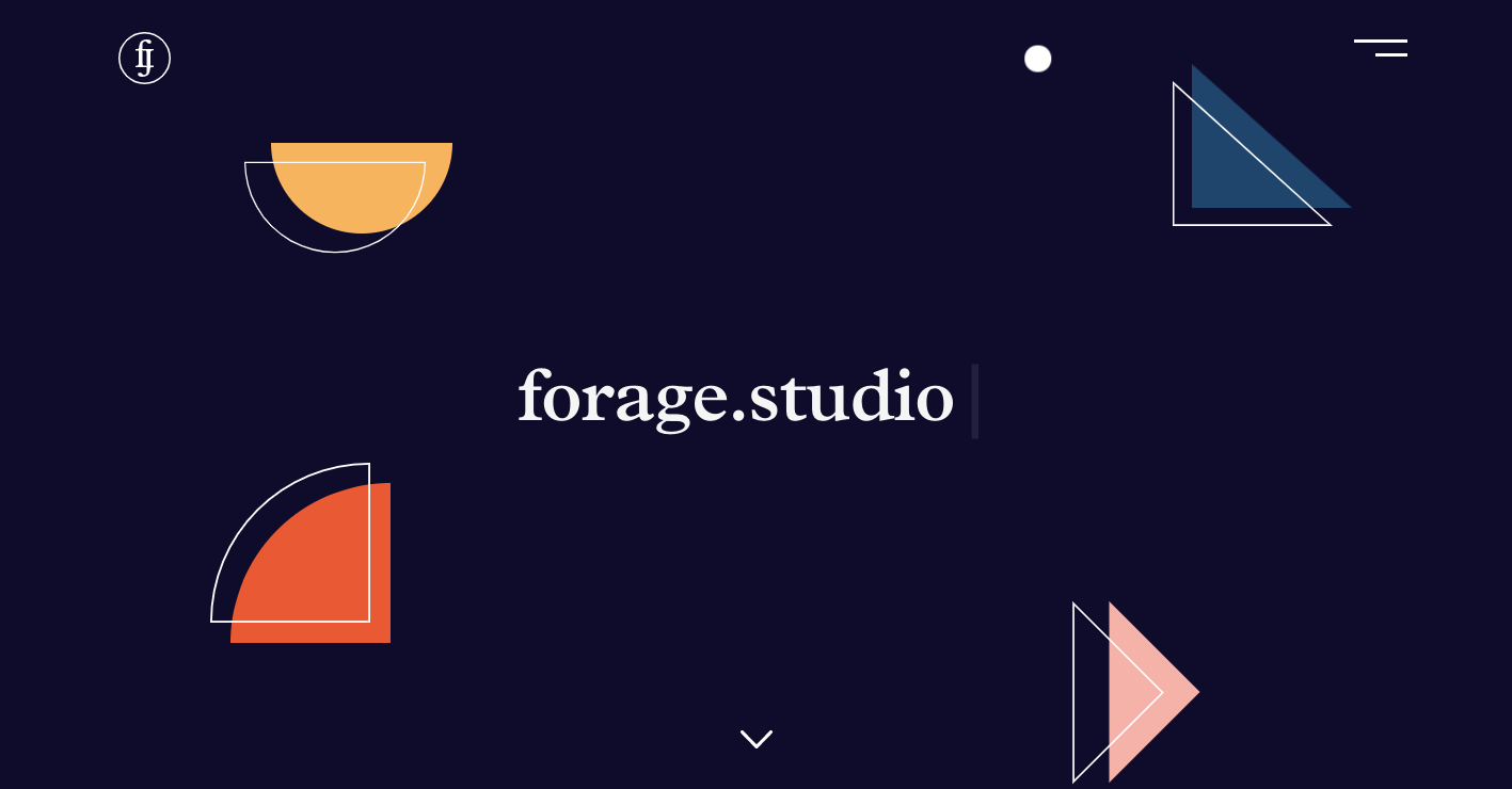 forage studios website