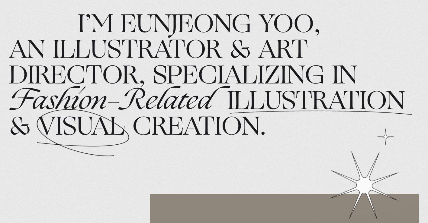 Eunjeong-Yoo's website