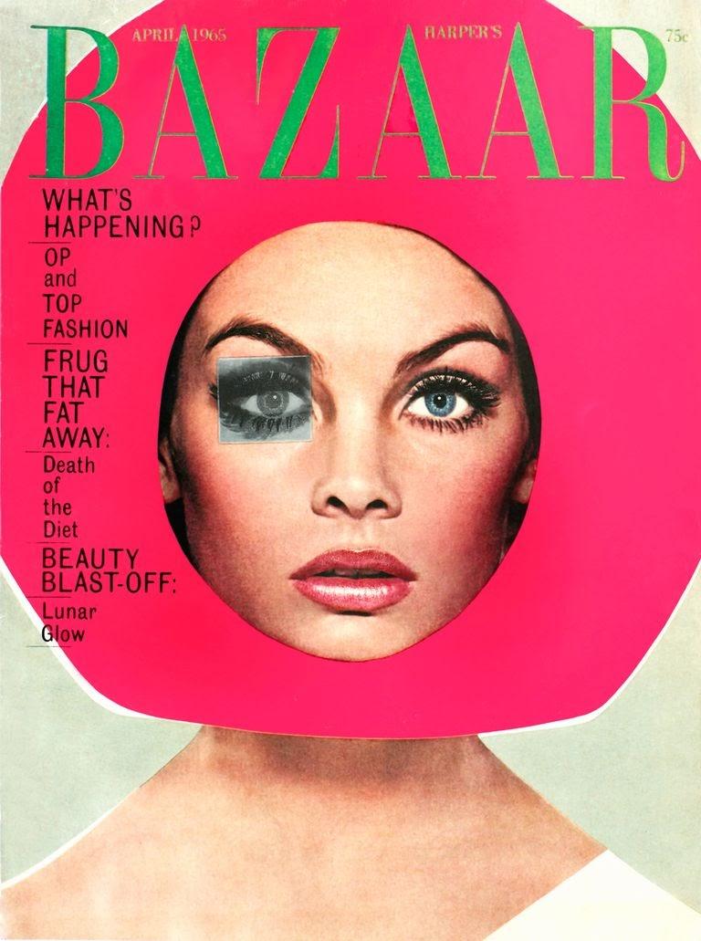 Harper's Bazaar cover by Bea Feitler.