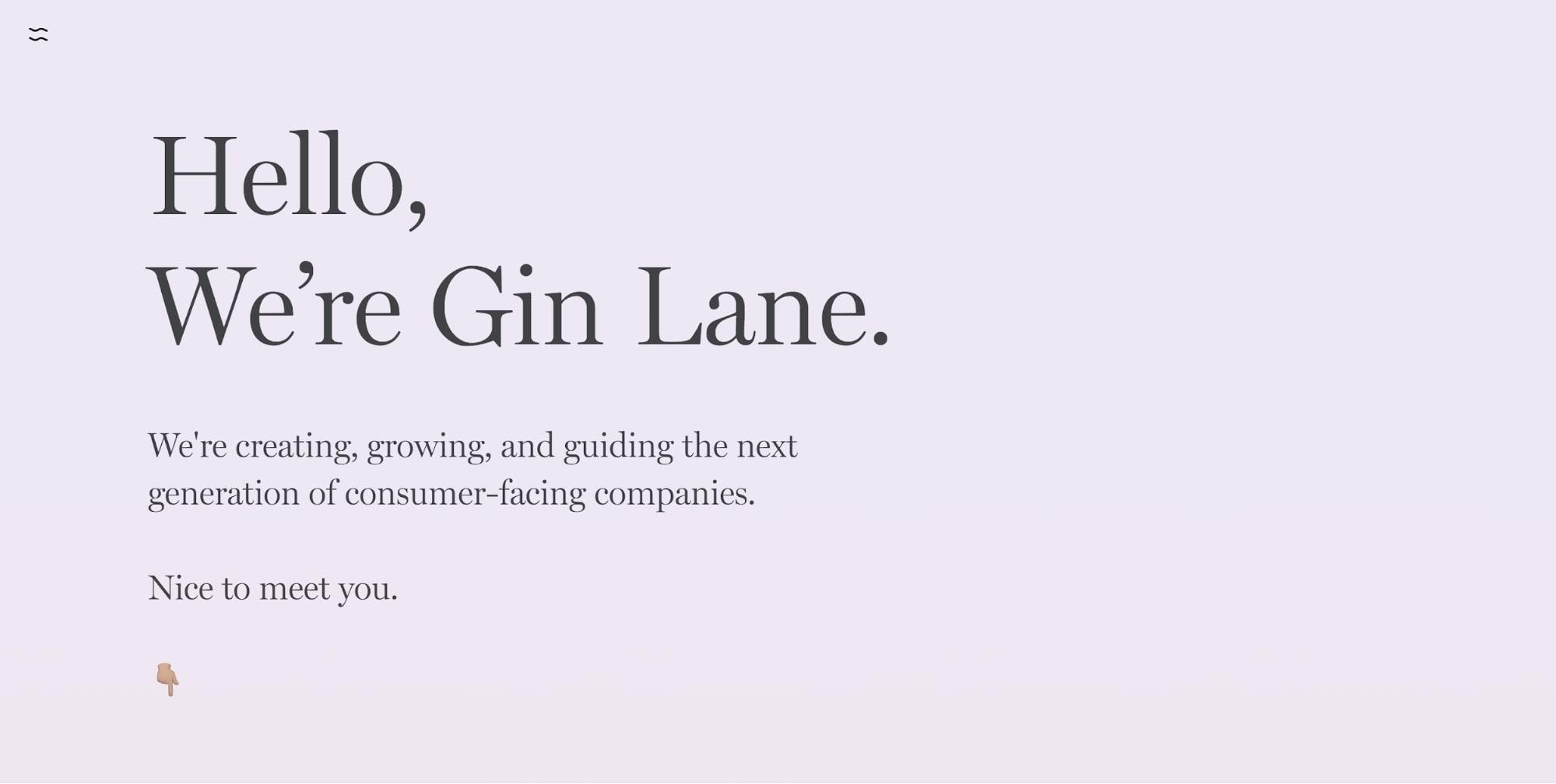 Gin Lane's website