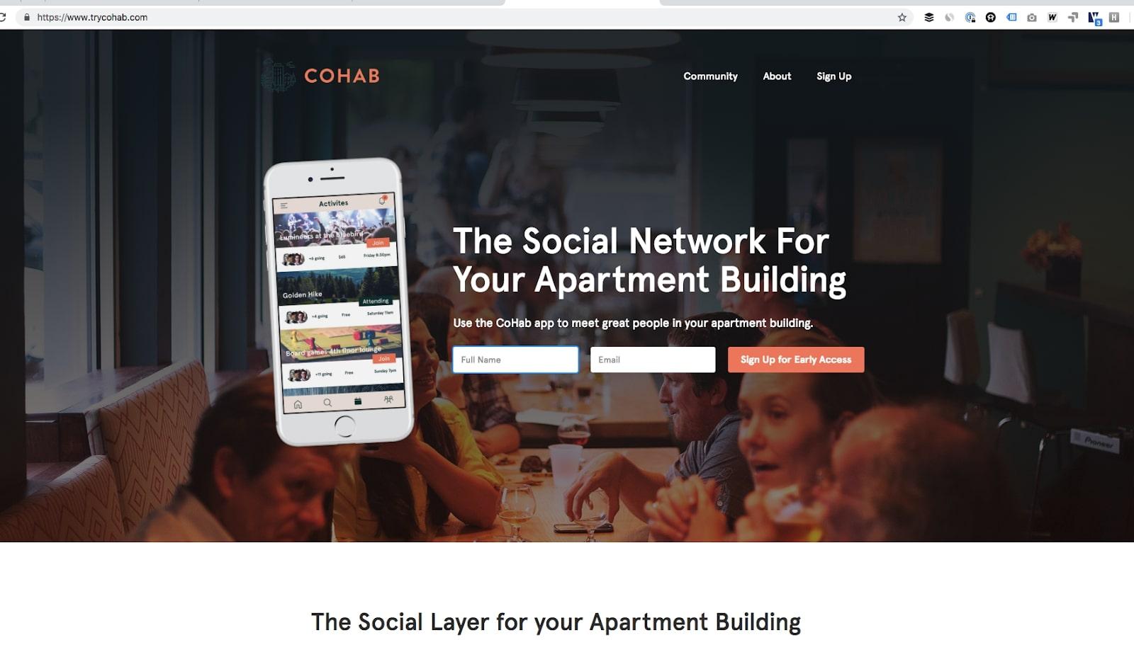 cohab website