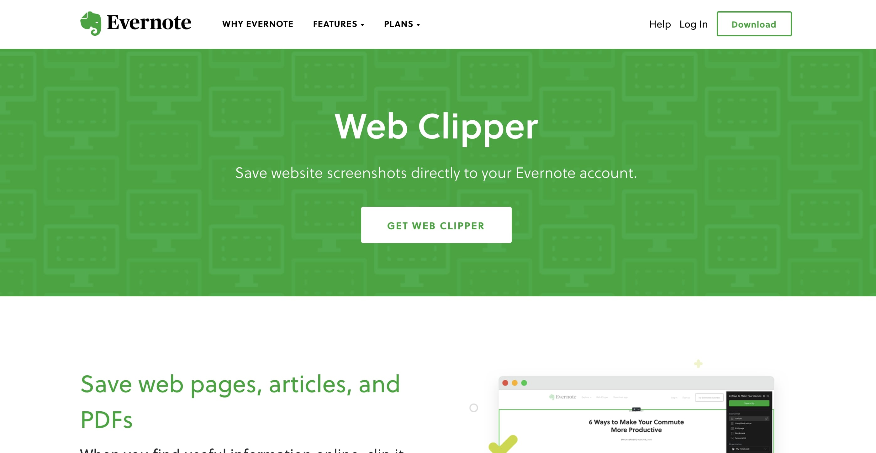 web clipper chrome extension by evernote