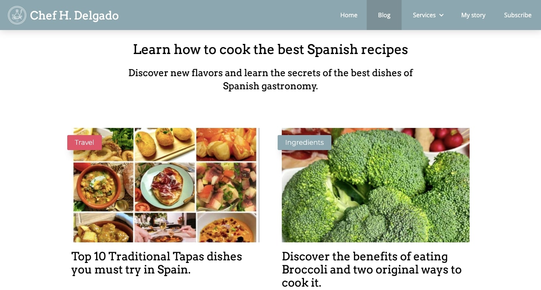 An image Chef H. Delgado's blog.
