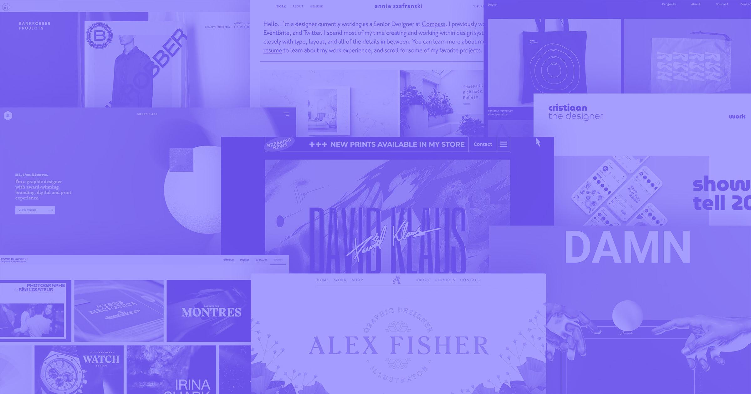 20 inspiring graphic design portfolios you need to see | Webflow Blog