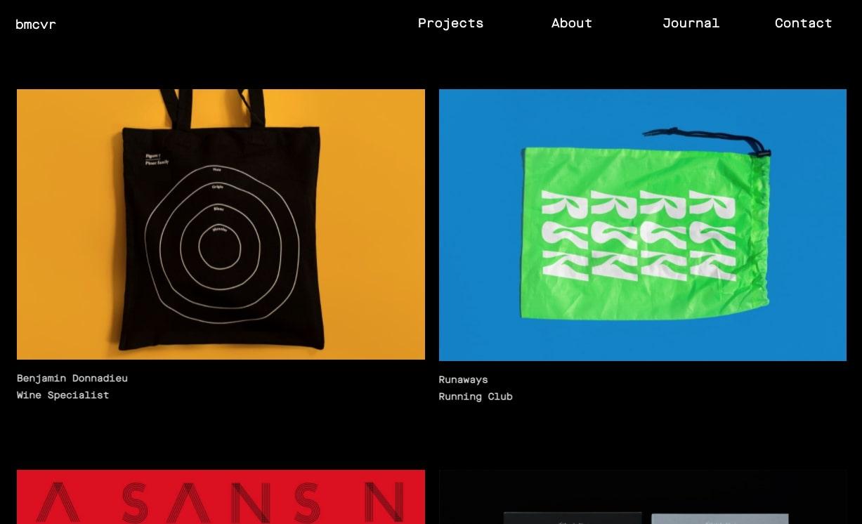 An image of BMCVR's website.