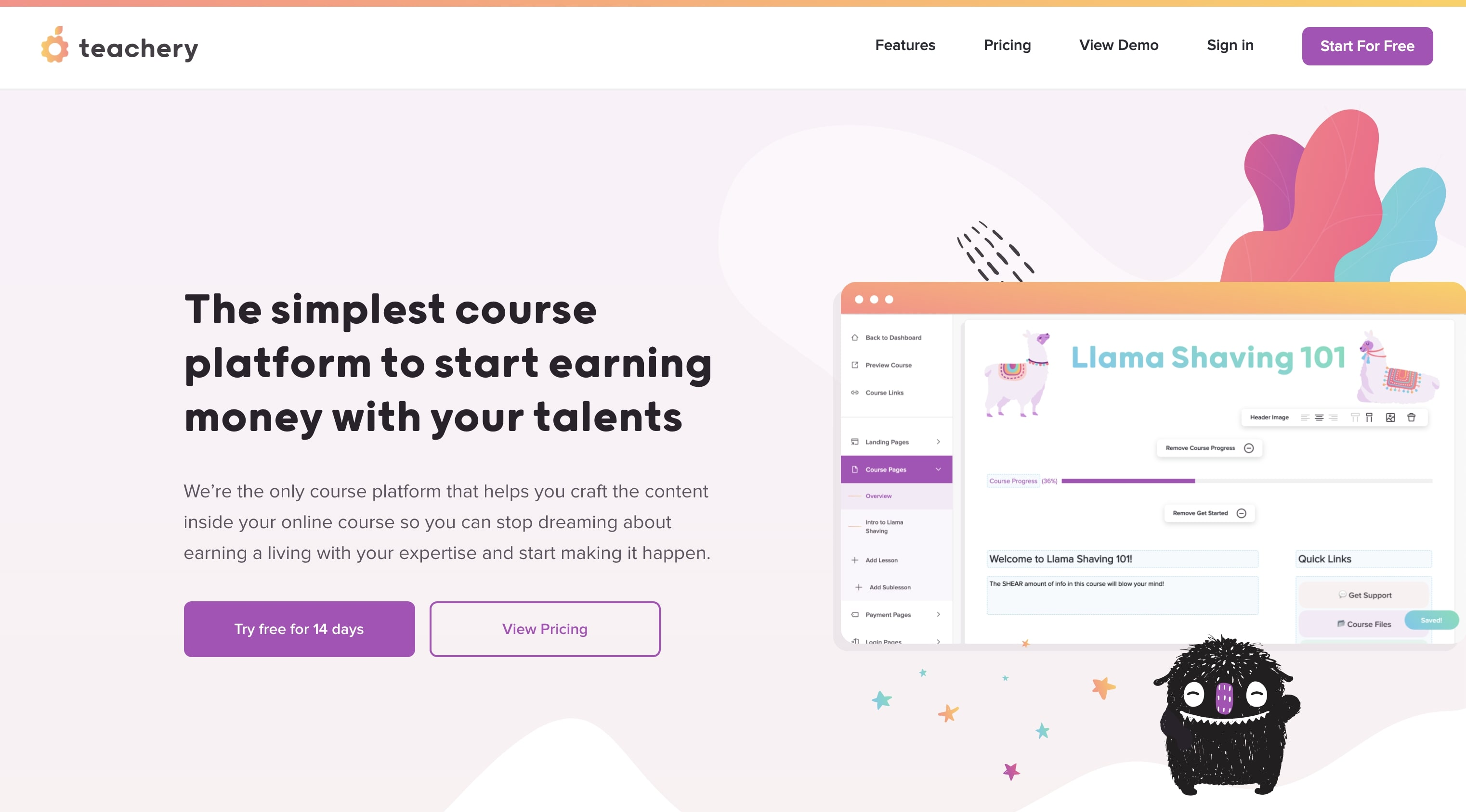 An image of the Teachery website.