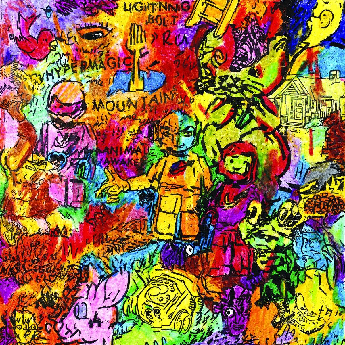 Album art for Hypermagic Mountain by Lightning Bolt