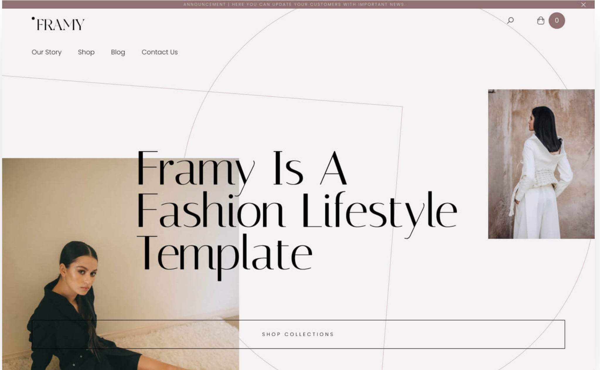 An image of the Framy Template.