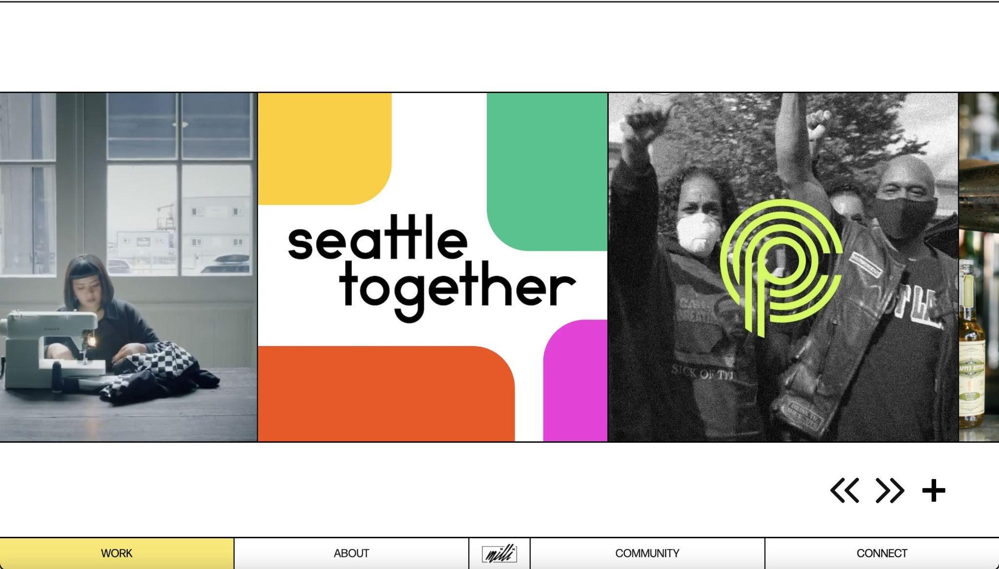 An image of Milli Agency's featured work.
