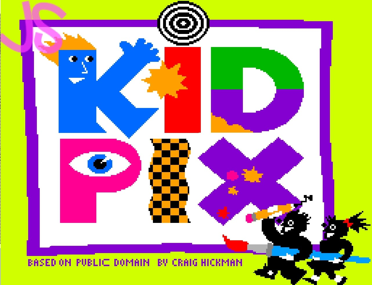 An image of the Kid Pix logo.